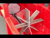 Vysoká efektivita a výkon při štípání dřeva - profesionální automatické štípače