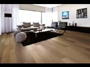 Dřevěné třívrstvé podlahy PERGO - vzorkovny BOMA PARKET