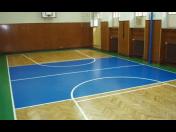 Dodávky a opravy sportovních, parketových či palubových podlah pro školy, tělocvičny a sály