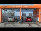 Bezkontaktní automyčka, samoobslužná myčka aut - otevřeno denně 6-22