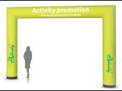 Prodej prezentačních systémů pro venkovní využití -  stany, nafukovadla, brány