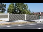 Drážní svršky a protihlukové stěny pro pozemní komunikace - výroba, dodávka