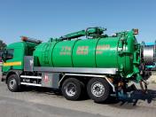 Vývoz a čerpání tekutých odpadů, odpadních vod a fekálií z jímek, žump i septiků