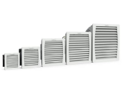 Filtrační ventilátory εCOOL Pfannenberg pro chlazení, regulaci teploty elektrických rozváděčů