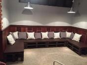 Výroba nábytku z dřevěných palet ze sušeného dřeva do domu i na zahradu
