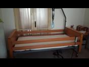 Pronájem polohovacích postelí a pečovatelských lůžek i s antidekubitní matrací
