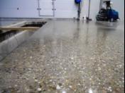 Renovace betonových podlah technologií Superbeton -systém broušení, leštění, zpevnění, barvení betonových ploch