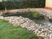 Okrasné zahradní kamenivo různých frakcí včetně dopravy