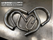 CNC ohýbání, zakružování nerezových, hliníkových trubek i silnostěnných