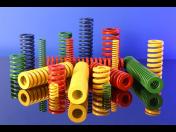 Nástrojové pružiny z kvalitní oceli - výroba na zakázku, dlouhá životnost