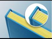 Výroba a tisk barevných, černobílých či kombinovaných knih, skript a učebnic v různých vazbách
