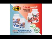 Originální doplňky stravy - v eshopu nově JML Chelát Magnezium s B6, JML Immunity Vitamín C s šípky a zinkem