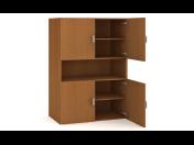 Kancelářské skříně s vysokou nosností polic a variabilitou úložného prostoru včetně 3D vizualizace