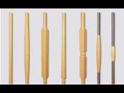 Doplňkové dřevěné komponenty ke schodišti – šprušle, sloupky, koule