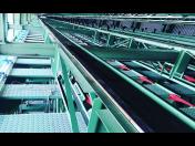 Industrielle Installation und Montage einer Sortierlinie für Bretter und Träger, die Tschechische Republik