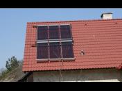 Solární panely pro ohřev vody - montáž, výhodné dotace pro rodinné a bytové domy
