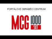 Portálové obráběcí centrum MCG 1000 - multifunkční stroj pro třískové obrábění složitých obrobků, kovových dílců
