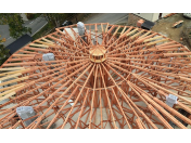 Výroba a dodávka dřevěných střešních vazníků pro stavební firmy - na všechny typy střech