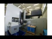 6-ti osý frézovací stroj ložového typu RT 3000 pro tvarové obrábění železných i neželezných materiálů