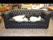 Luxusní kožené sedací soupravy a pohovky vyrobené na míru v anglickém stylu