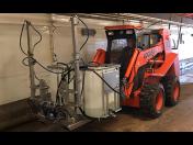 Mycí stroj CleanMatic 603 H - čištění hospodářských, zemědělských hal s chovem zvířat