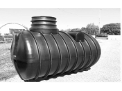 Plastové nádrže na sběr a další využívání dešťových a splaškových vod