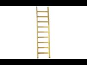 Dřevěné opěrné žebříky a štafle ze smrkového dřeva s nosností až 150 kg – nákup přes e-shop