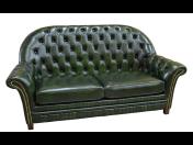Kožené pohovky a sedací soupravy v anglickém stylu Chesterfield vyráběné na zakázku