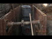 Vodohospodářské stavby - vodovodní, kanalizační přípojky k rodinným domům včetně ČOV