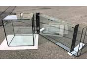 Zakázková výroba kvalitních skleněných akvárií a terárií na míru ve sklenářské dílně