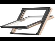 Kyvná střešní okna s integrovaným tepelným límcem a zavedenou ventilací