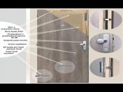 Bezpečnostní a protipožární vnitřní vchodové dveře do bytu