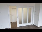 Posuvné interiérové dveře, které šetří prostor - montáž na stěnu, do zárubně nebo pouzdra