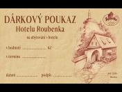 Dárkový poukaz na pobyt ve stylovém rodinném Hotelu Roubenka v Beskydech