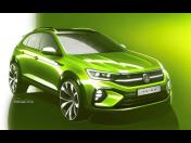 Nové sportovní SUV Taigo značky Volkswagen se představí na evropské premiéře