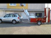 Prodej štípacích automatů pro zpracování palivové dřeva - stroje od českého výrobce