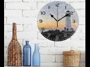 Skleněné hodiny - originální propagační reklamní předmět s logem potěší každou firmu