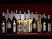 Degustační sety vín – vína ze znojemské vinařské podoblasti, sladší polosuchá vína
