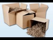 Výroba papírových a kartonových krabic pro balení zboží z e-shopu