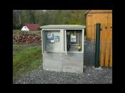 Betonové domečky na plyn HUP plynové skříně elektro přípojky