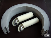 PSP Izoterm – polyuretanové desky, tvarová izolace potrubí