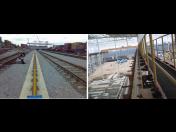 Kolejnice jeřábové, železniční, tramvajové, důlní - dodávky, montáže, instalace