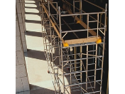 Dodávka lehkých hliníkových mobilních věží BoSS - montáž až do výšky 18m bez nutnosti kotvení