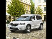 Nová Škoda YETI bezpečná jízda i parkování s parkovací kamerou