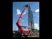 Pronájem plošiny - pracovní a montážní Brno