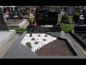 Výrob a renovace žulových pomníků a náhrobků - realizace na zakázku