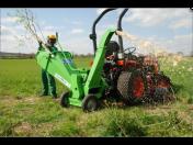 Štěpkovače za traktor pro likvidaci dřeva - prodej a výroba