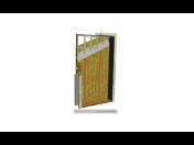 Bezpečnostní protipožární dveře, zesílená odolná konstrukce