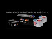 Autobaterie a akumulátory Autopart e-shop - dlouhá životnost a spolehlivost