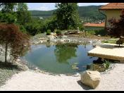 Návrh, realizace přírodní zahrady inspirované přírodou